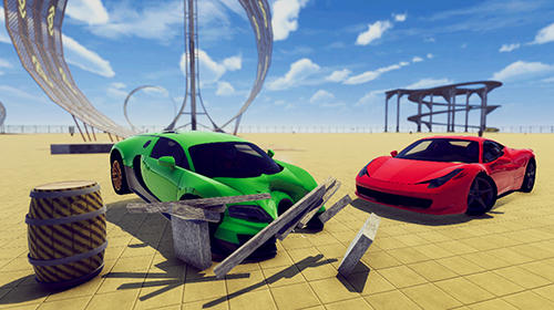 Car crash demolition derby simulator 2018 für Android