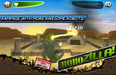 Аркады игры: скачать Robot Rampage на телефон