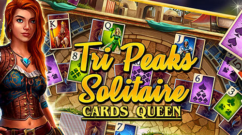 Tri peaks solitaire: Cards queen screenshot 1