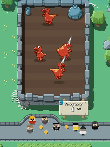 Crazy dino park for Android