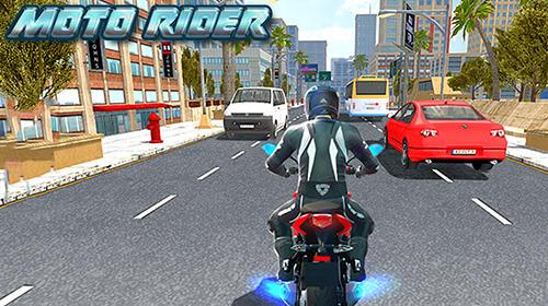 Moto rider Screenshot