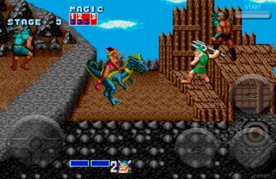 Fighting games Golden Axe in English