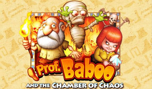 Professor Baboo and the chamber of chaos скриншот 1