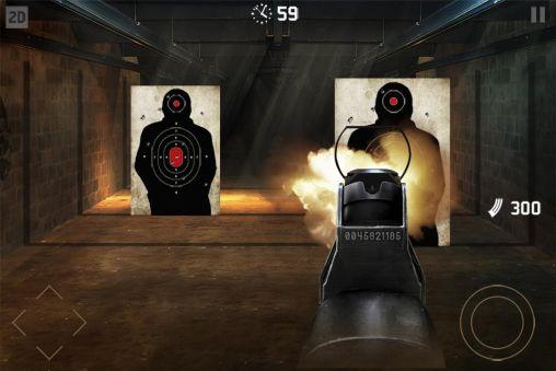 Actionspiele Gun master 3D für das Smartphone