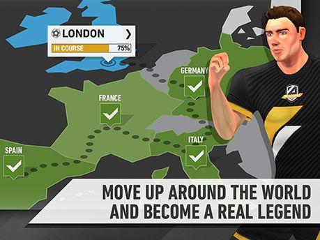 Be a legend: Football auf Deutsch