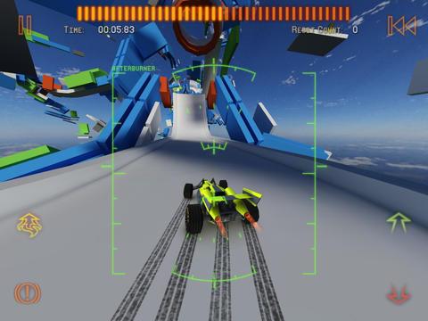 Screenshot Jet Car Stunts 2 auf dem iPhone