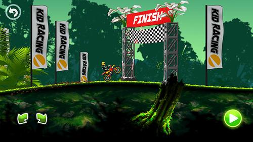 Jungle motocross kids racing captura de tela 1