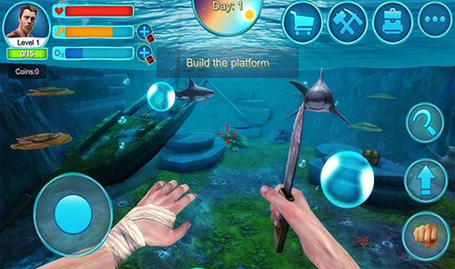 Ocean survival 3D 2 screenshot 1