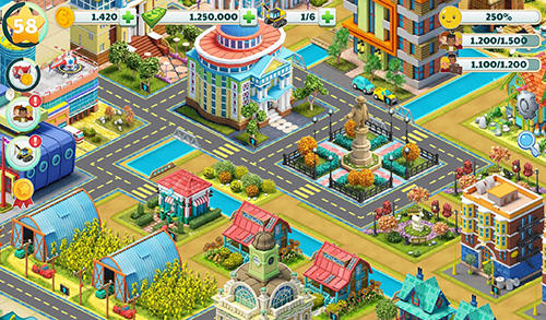 Town city: Village building sim paradise game 4 U screenshot 4