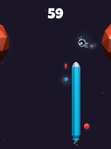 Arcade-Spiele Galaxy glider für das Smartphone