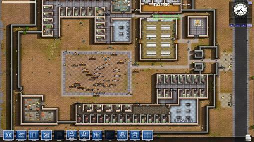 Strategiespiele Prison architect für das Smartphone