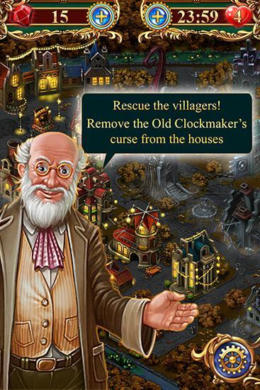 Clockmaker: Amazing match 3 скриншот 1