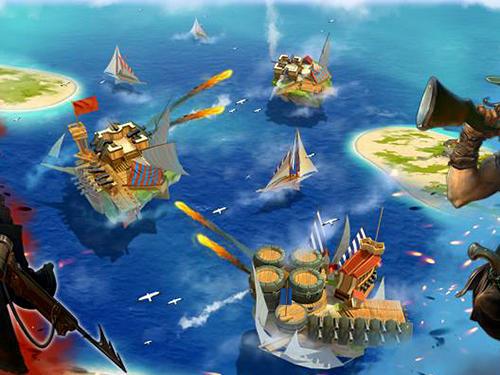 Online Pirate sails: Tempest war für das Smartphone