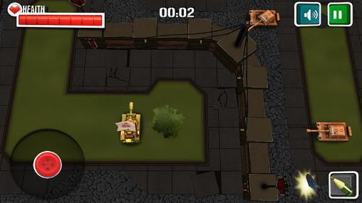 Lords of the tanks: Battle tanks 3D pour Android
