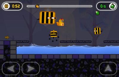 Captura de tela Em Busca de Bolotas no iPhone