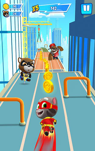 Talking Tom hero dash para Android