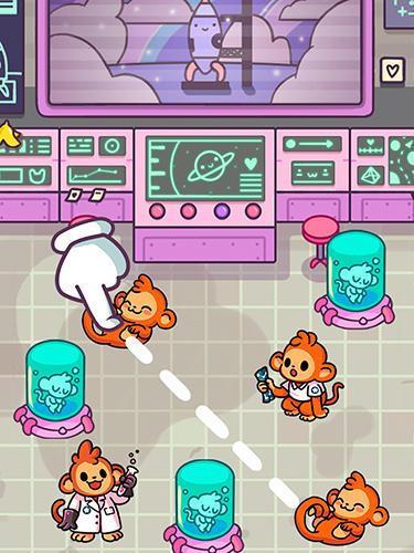 Логічні ігри: завантажити Мавпочки астронавти на телефон