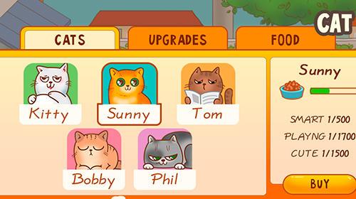 Simulator-Spiele Cats house für das Smartphone