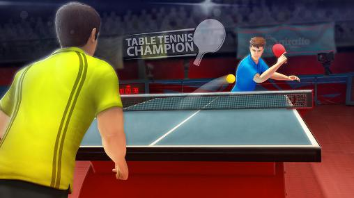 Table tennis champion captura de tela 1