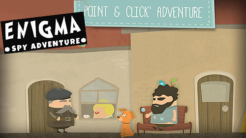Enigma: Super spy. Point and click adventure game screenshot 1