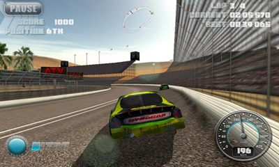 N.O.S. Car Speedrace Screenshot