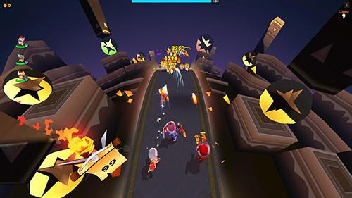 Arcade-Spiele Hunter run für das Smartphone