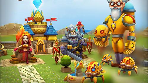 Onlinespiele Dragon lords 3D strategy für das Smartphone