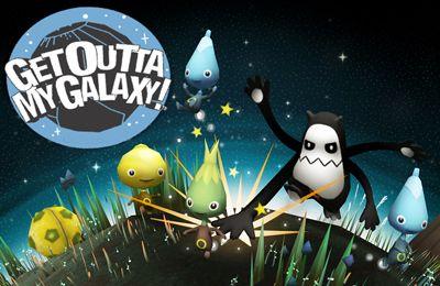 логотип Забирайся з моєї Галактики!