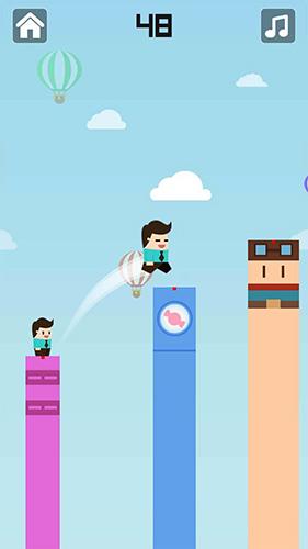Arcade Keep  jump: Flappy block jump für das Smartphone