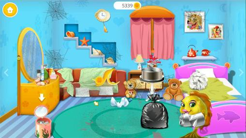 Cute fish clean up for Android