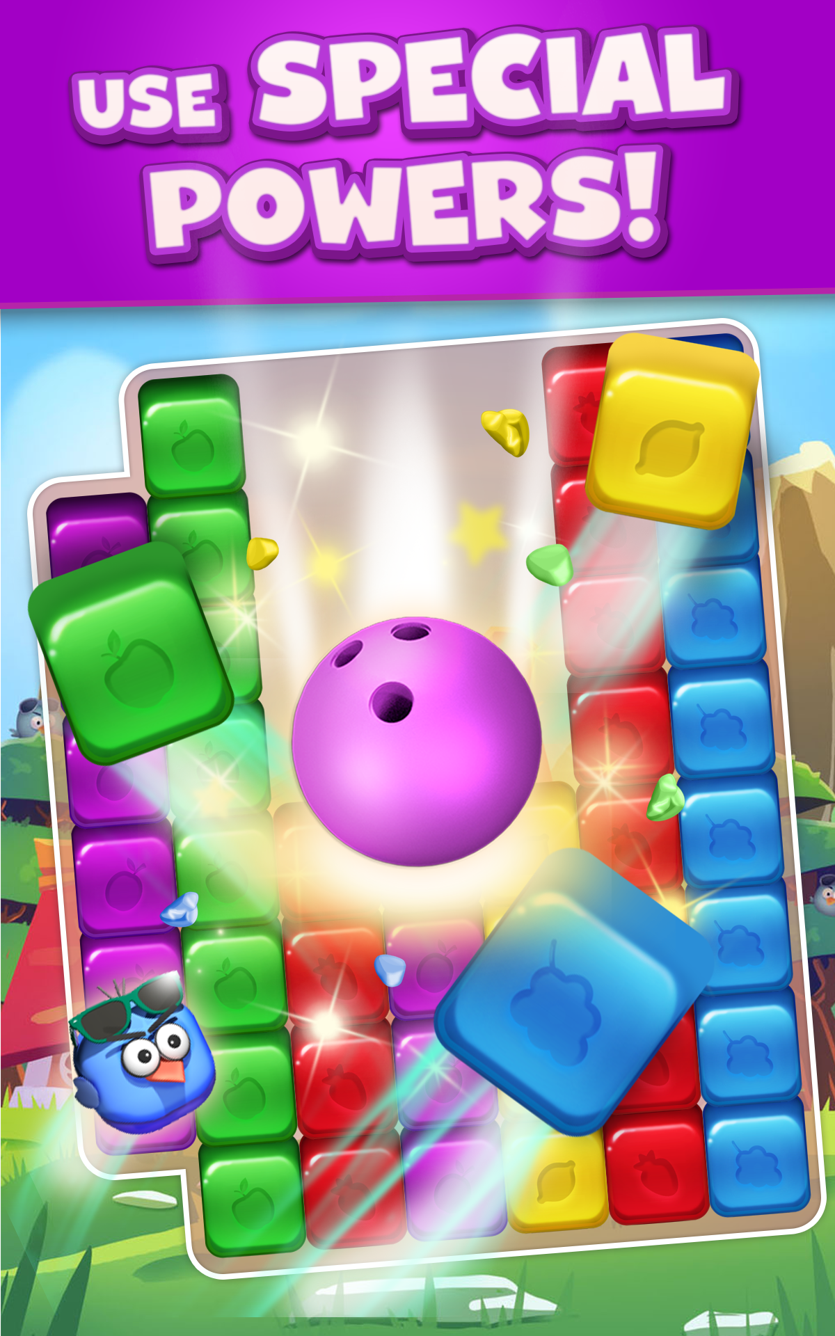 Cartoon Crush: Blast 3 Matching Games Toon Puzzle screenshot 1