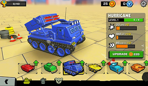 Tank headz screenshot 2