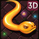 3D snake.io Symbol