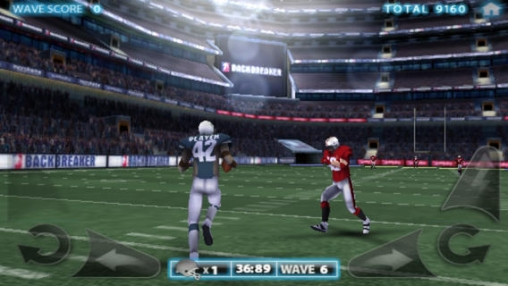 Screenshot American Football auf dem iPhone