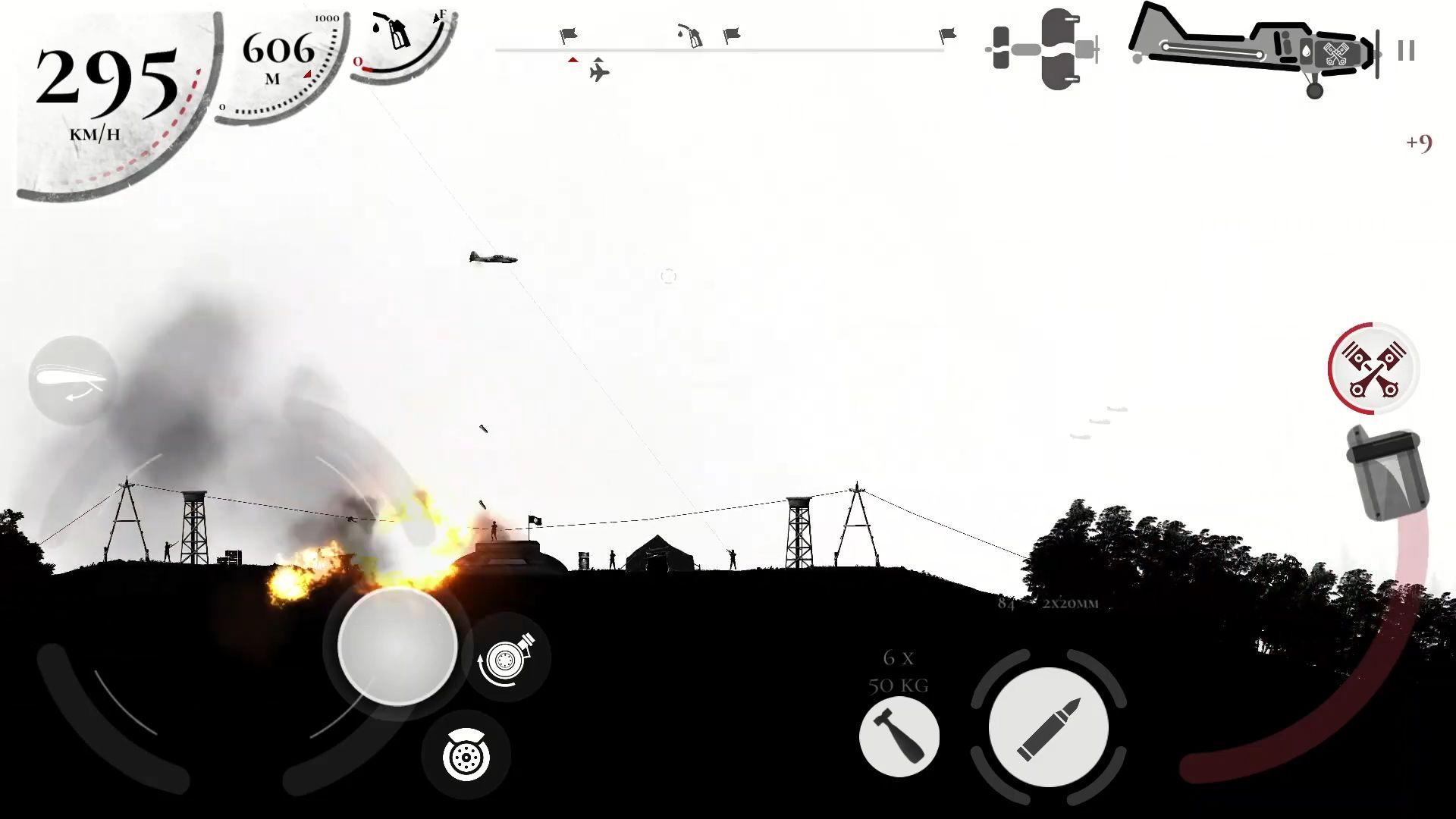 Warplane Inc. Dogfight War Arcade & Warplanes WW2 for Android