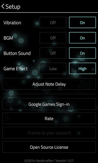 Full of music: MP3 rhythm game für Android