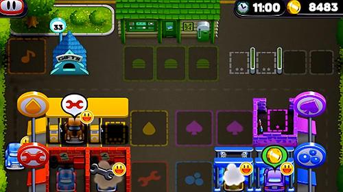 Arcade-Spiele Tiny auto shop für das Smartphone