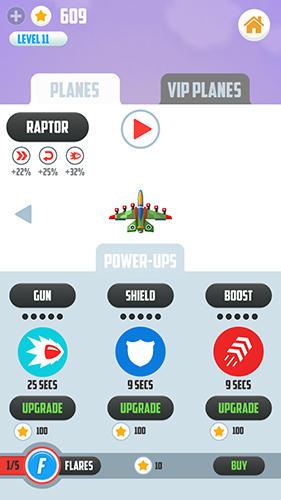 Arcade-Spiele Man vs missiles: Combat für das Smartphone