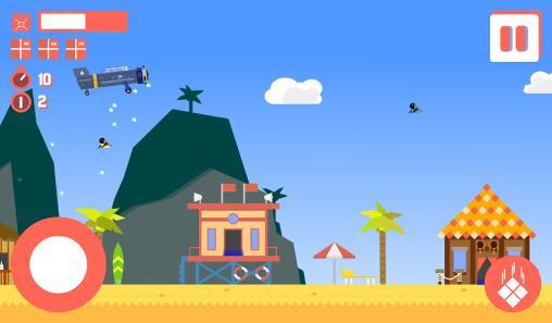 Arcade-Spiele Sky delivery: Endless flyer für das Smartphone