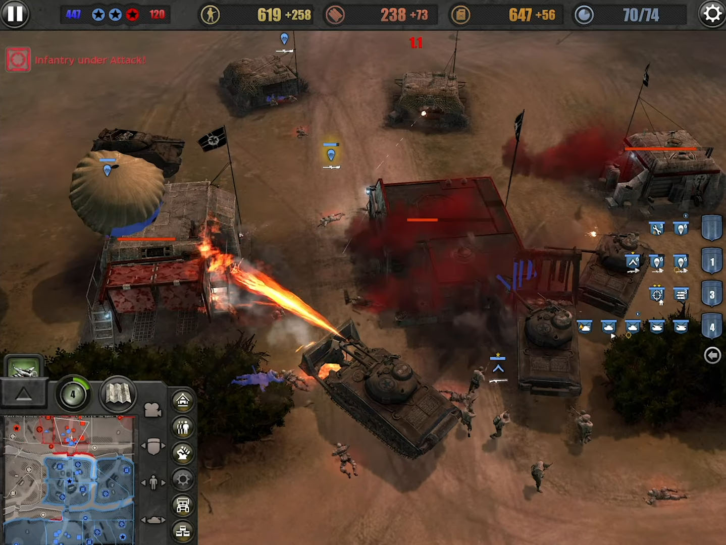 Company of Heroes para Android