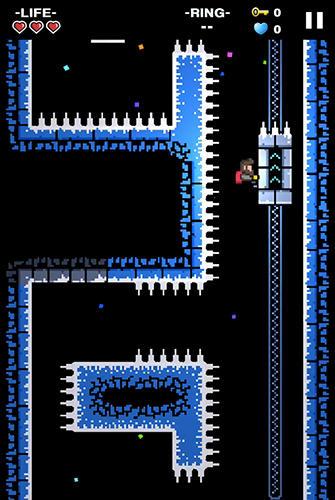 Juegos de arcade Mountain climber: Frozen dream para teléfono inteligente