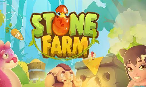 Stone farm icon