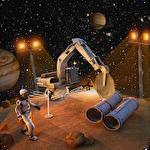 Space construction simulator: Mars colony survival icône