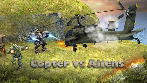 Copter vs aliens icono