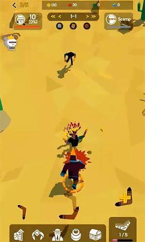 Boomerang evolution: Merge idle RPG Screenshot