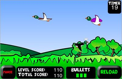Arcade games: download Duck Hunting to your phone