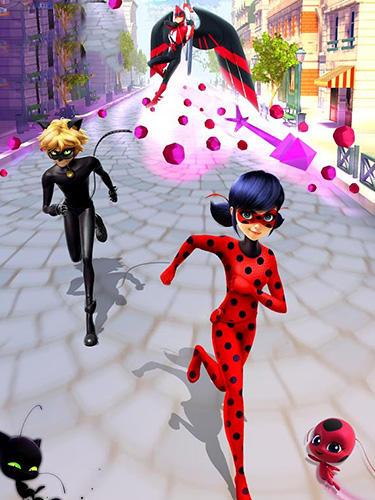 Basierend auf Zeichentrickfilm Miraculous Ladybug and Cat Noir: The official game auf Deutsch