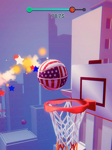 Dunk de color 3D para iPhone gratis