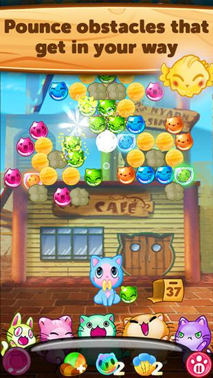 Kitty pawp: Bubble shooter für Android