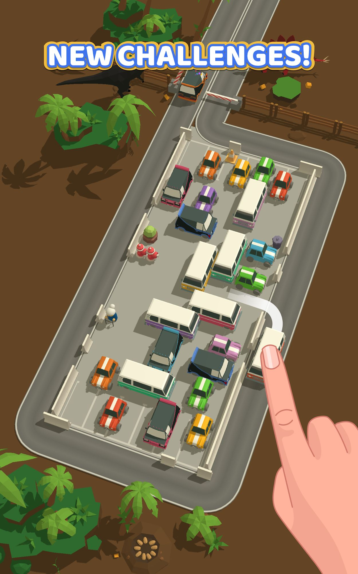 Parking Jam 3D captura de tela 3